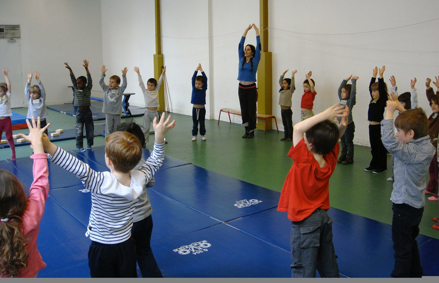 Atelier enfants © Cie du Parquet Nomade