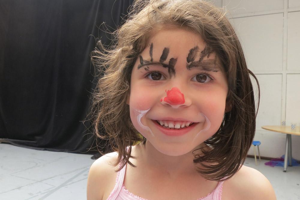 Atelier clown © Cie du Parquet Nomade