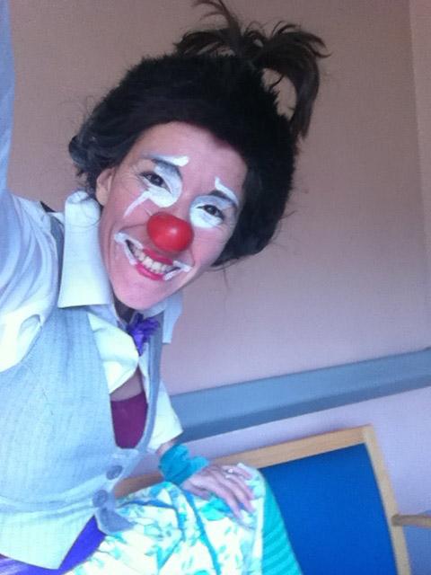 Clown à l'hôpital © Cie du Parquet Nomade
