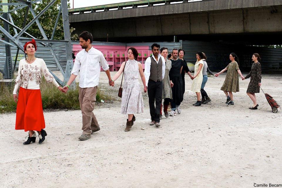 Atelier Danse Buto © Cie du Parquet Nomade
